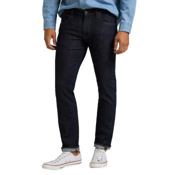 Lee Daren Jeans Regular Slim, New Rinse, Frontansicht