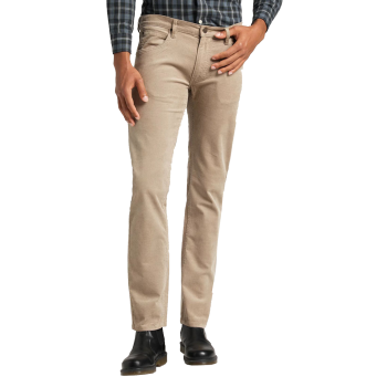 Lee Daren Jeans Regular Slim, Cord Timberwolf, Frontansicht