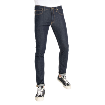 Lee Luke Jeans Slim Tapered, bleu foncé, Rinse, devant