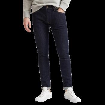 Lee Luke Jeans Slim Tapered, dunkelblau, Rinse, Frontansicht