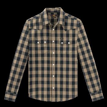 Lee Rider Shirt regular fit, Utility Green, devant