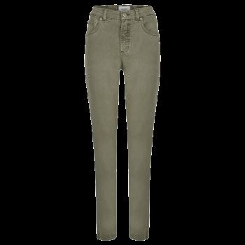 Angels Tama Jeans, Dark Khaki Used, Frontansicht