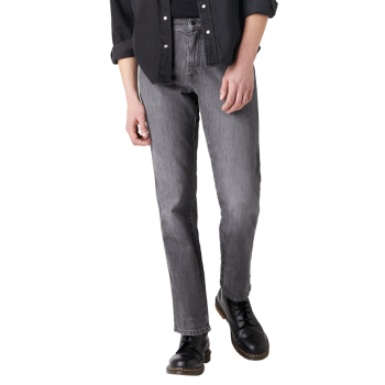 Wrangler Texas Stretch, Dusty Granite, Frontansicht