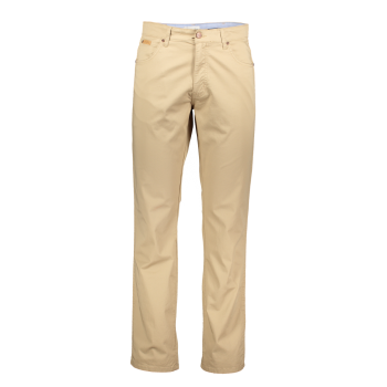 Wrangler Texas Stretch Jeans Straight, beige, Cornstalk, devant