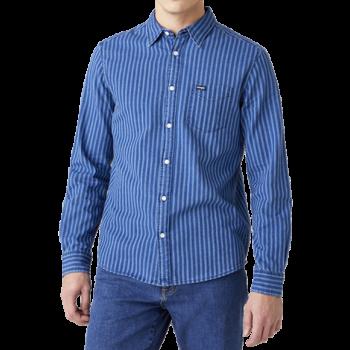 Wrangler 1 Pocket Shirt Regular Fit, Indigo